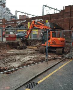 Caxton Street Progress